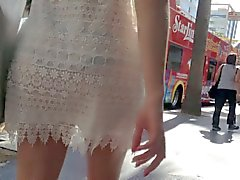 Di vedere attraverso sexy del dal vestito puro dalla due