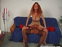Nylons BDSM action