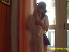 Jav Amateur Arisa Mirai Teases On The Beach Very Cute Gravure Teen Then Plays In Her Uniform