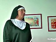 German Granny MILF Make Porn Casting