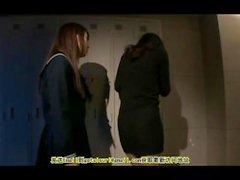 Japanese lebian schoolgirl in bondage