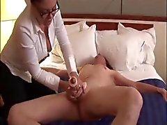 2 Handed Shaft Milking Handjob Cumshots - Pornstars Vol. 1
