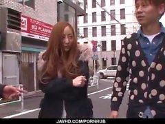 Erena Aihara yakalandı ve zor fuked