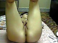 Arabimaiden amerikkalainen Teinit Rubs ja sormien hänen kiimainen Cunt