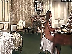 Ornella Muti nude showing us her bare breasts, booty and
