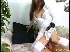 German pantyhose brunette