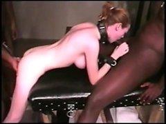 Slave slut Likes Two BBCs