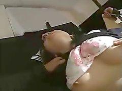 Japan JKgirl Stütze elektrische Massage