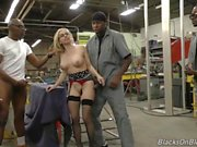 First GangBang For Christie Stevens