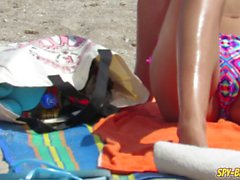 Hot Big Boobs Topless Amateur Teens Bikini Beach Voyeur