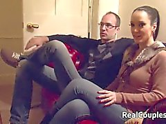 Hot Kinky Frau hat Sex mit Cross-Dressing Mann