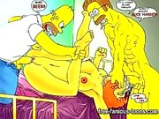 Simpson Hentai porno porn parodia di