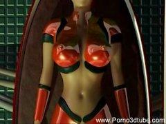 3D Space Monster Sex porno3dtube