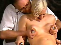 Medical fetish of blonde bdsm babe Chaos