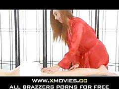 Kassius Kay and Callie Cyprus Heated Massage