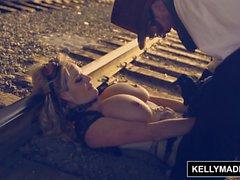 Келли Мэдисон - Стимпанка Sex сходит с рельсов