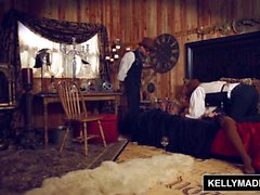 KELLY MADISON - El sexo de Steampunk sale de los carriles