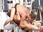 Gy'i iki kızgın adale bodybuilding Gavin Waters & The Rusty Stevens halt