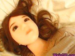 Super hot babes japanischen zu tun seltsame Geschlechts