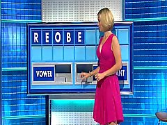 Rachel Раздраженный - прекрасная большая Титса розовом платье