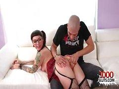 Tattoo pornstar hardcore and creampie