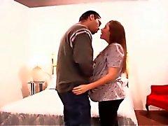 Descalça e grávida