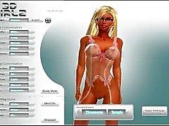 3D Девушки Навсегда - Задание Смотрят