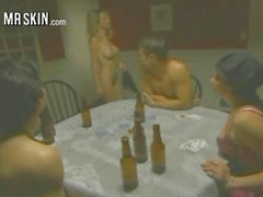 Celebs Lose Their Clothes And Get Nude Playing Strip Poker