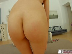 AllInternal Double anal penetration with anal creampie for russian beauty