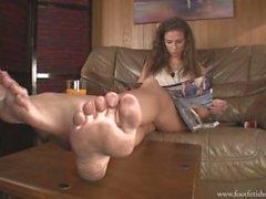 Señora María pies sucios