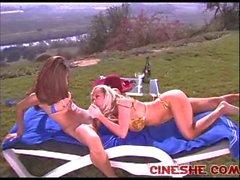 Las lesbianas de Jennas sucio de secreta y de Jenna de Jameson