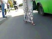 Oops Japonaises Voyeur Au de bus le BVR