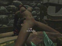 Skyrim - Sex With Aela (Nude )