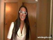 Wendys julafton Kalendarium Audition - netvideogirls