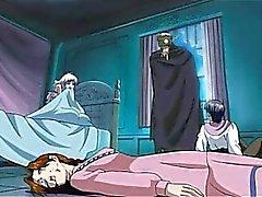 Warm Hentai Prinzessin Zelle eingefangen wird hart gefickt