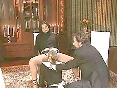 Rich Lady Her Maid And Butler Fuck