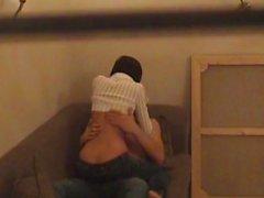 Hidden cam scenes with hot couple