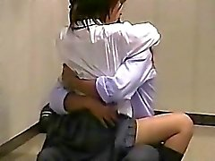 School Campus Upstairs Voyeur Sex Couples
