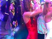 Meninas desagradáveis dançando erótica