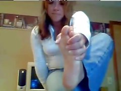 Milf Webcam üzerinde ayak fetiş göster yapıyor