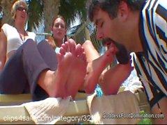 Нога Удушение по Clips4sale