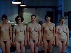 Nackten Nonnen in unbarmherzigen Schwestern