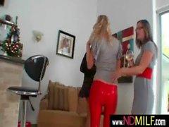 Lesbian MILFs snatch eating 3