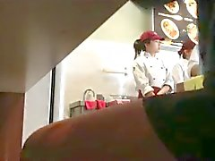 un ristorante cinese Wanker !!!!