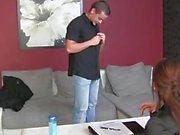 FemaleAgent HD Accidental creampie in his first male porno audition