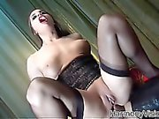 Heavenly hottie gets a good fucking
