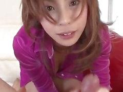 Breathtaking POV porn scenes along insolent Natsumi Mitsu