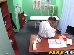 Smoking hot girl seduces a doctor and her ex boyfriend