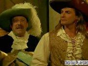 Klassische Piraten 2: Jesse Jane und Belladonna im heißen, rauhen Lesbensex