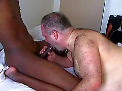 hairy daddy bear takes a BBC